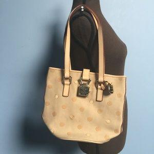 Dooney & Bourke Polka Dot Bucket Bag